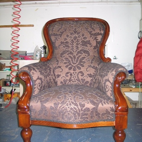 Victorian gents chair